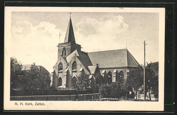 AK Zetten, Ned. Herv. Kerk, Aussenansicht