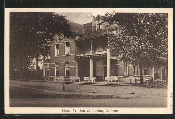 AK Lochem, Hotel/ Pension de Luchte