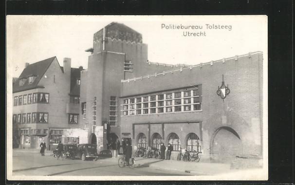 AK Utrecht, Politiebureau Tolsteeg, Fahrrad