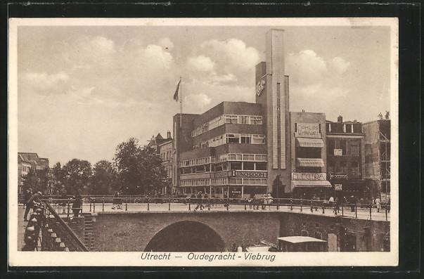 AK Utrecht, Oudegracht-Viebrug
