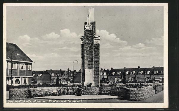 AK Utrecht, Monument Pioniers Nat. Luchtvaart