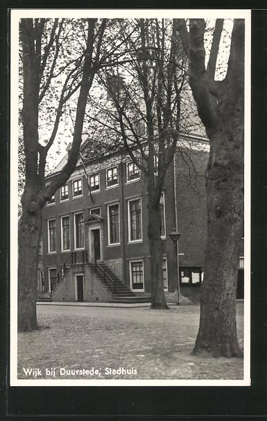 AK Wijk, Stadhuis