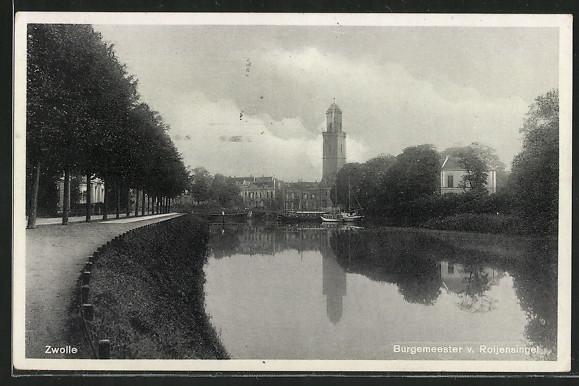 AK Zwolle, Burgemeester v. Roijensingel