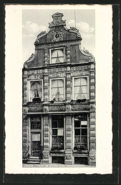 AK Zwolle, Karel de Vijfde huis, Sassenstraat