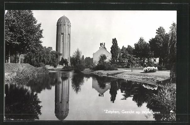 AK Zutphen, Gezicht op Watertoren