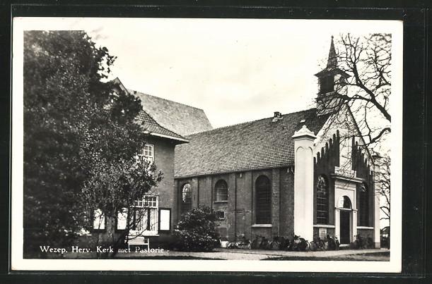 AK Wezep, Herv. Kerk met Pastorie