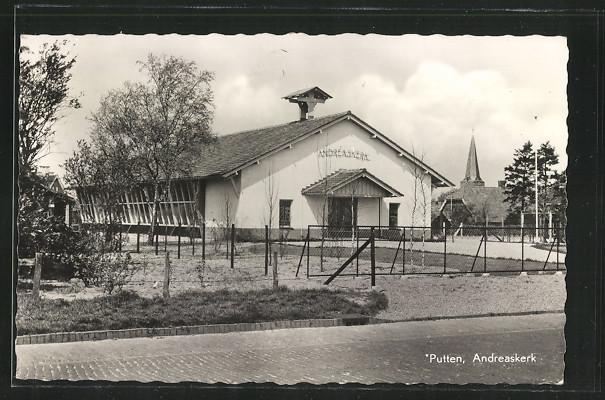 AK Putten, Andreaskerk von der Strasse aus
