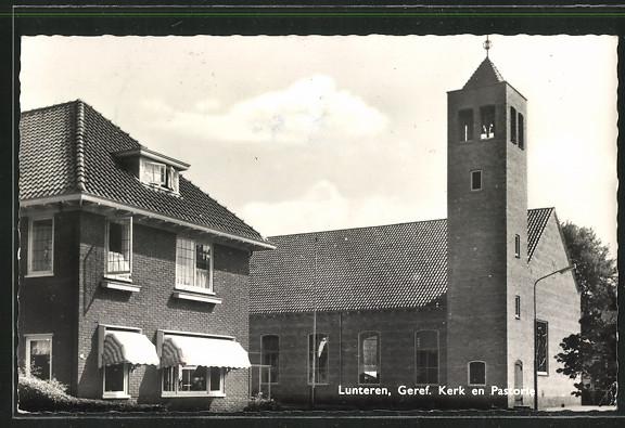 AK Lunteren, Geref. Kerk en Pastorie