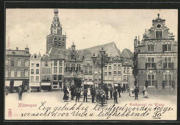 AK Nijmegen, Kerkpoort en Waag