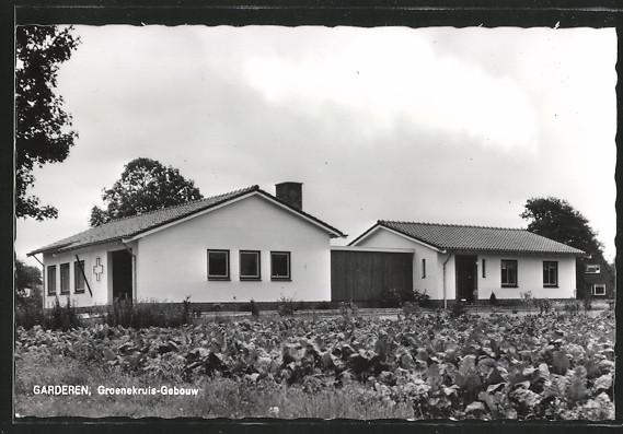 AK Garderen, Groenekruis-Gebouw, Gebäude des Grünen Kreuzes