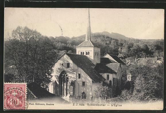 AK Romainmotier, L'Eglise