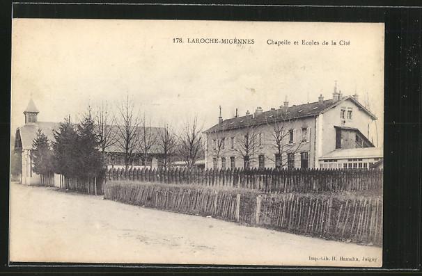 AK Laroche-Migennes, Chapelle et Ecoles de la Cite