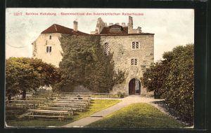 AK Habsburg, Ansicht vom Schloss, Stammschloss des österreichischen Kaiserhauses
