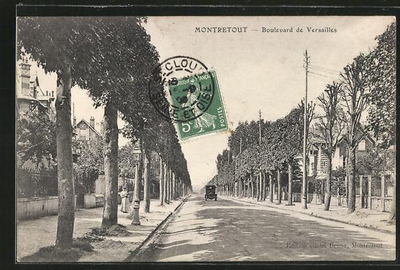 AK Montretout, Boulevard de Versailles