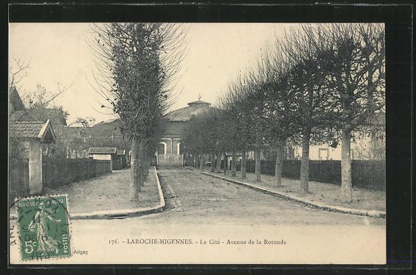 AK Laroche-Migennes, La Cite, Avenue de la Rotonde