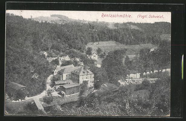 AK Rentzschmühle, Ortsansicht