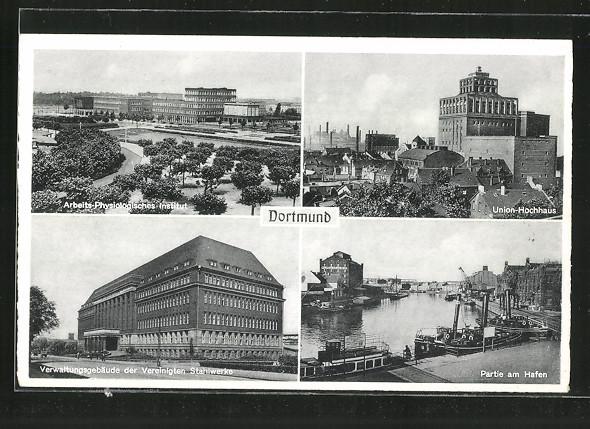 AK Dortmund, Arbeits-Physiologisches Institut, Union-Hochhaus