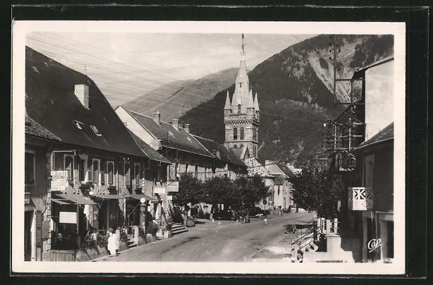 AK Corps, Rue des Fosses, L'Hotel de Ville