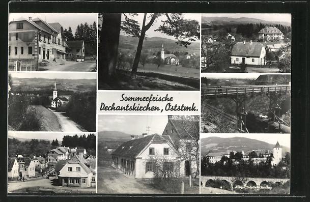 AK Dechantskirchen, Ortsansichten
