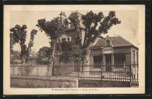 AK St-Georges-du-Vievre, Ecole des Filles