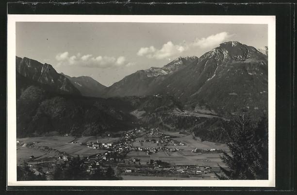 AK Jenbach, Panorama mit Bergen
