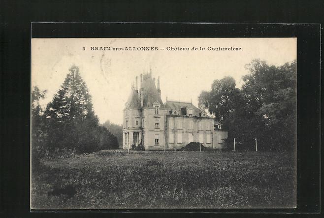 AK Brain-sur-Allonnes, Château de la Coutancière