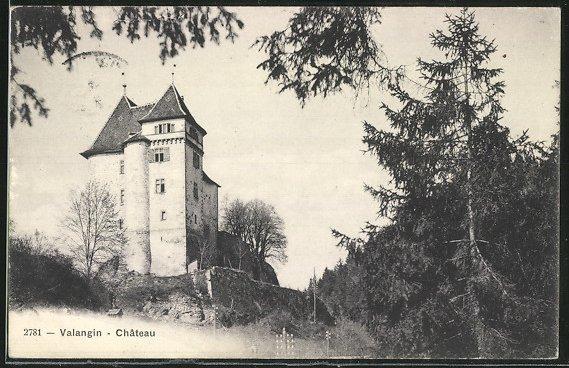 AK Valangin, Chateau