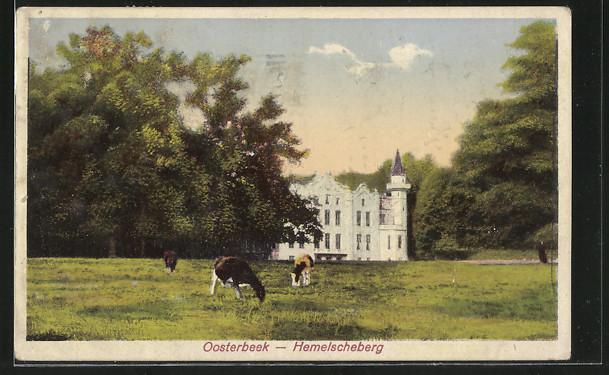 AK Oosterbeek, Schloss mit Kühen