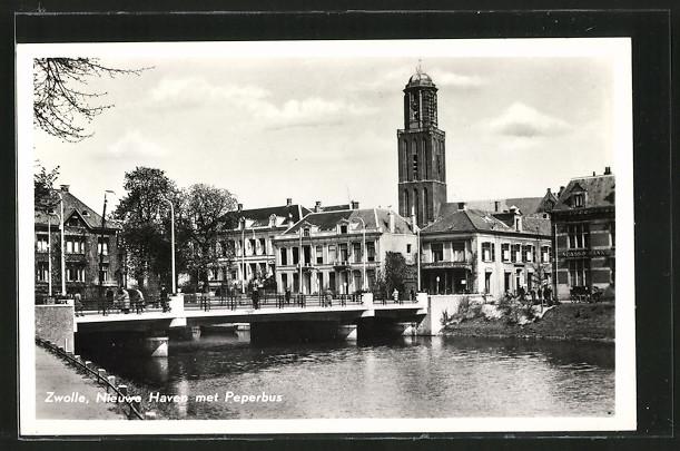 AK Zwolle, Nieuwe Haven met Peperbus