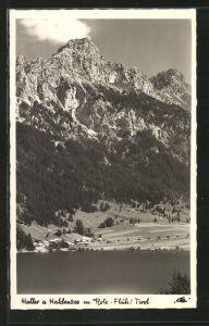 AK Haller am Haldensee, Panorama mit Rote-Flüh
