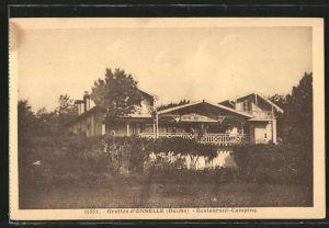 AK Osselle, Grottes, Restaurant-Camping
