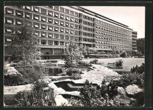 AK Basel, Blick auf das Bürgerspital