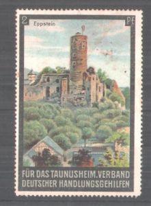 Reklamemarke Verband Deutscher Handlungsgehilfen,