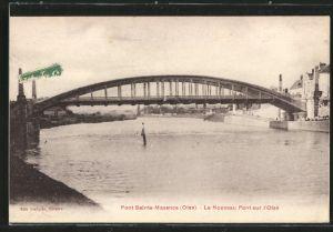 AK Pont-Sainte-Maxence, Le Nouveau Pont sur l'Oise