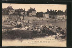 AK Pont-Sainte-Maxence, Le Pont sauté