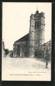 AK Pont-Sainte-Maxence, L'Eglise