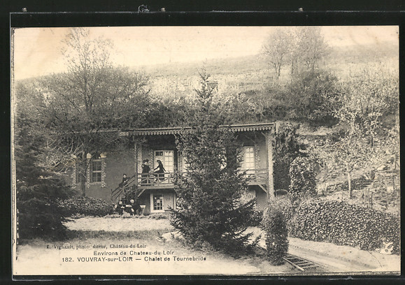 AK Vouvray-sur-Loir, Chalet de Tournebride
