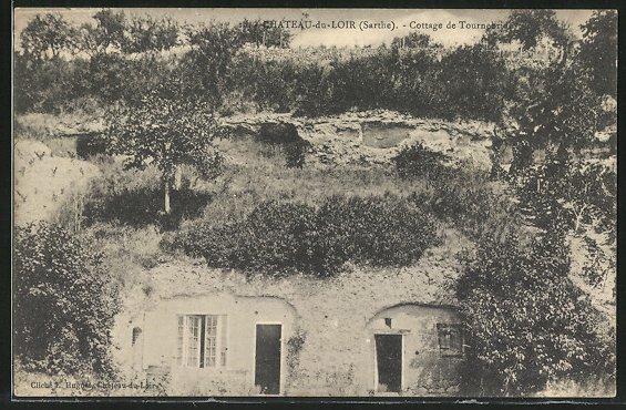 AK Chateau-du-Loir, Cottage de Tournebride