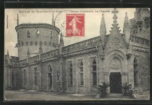 AK Saint-Benoit-du-Sault, Chateau Guillaume, La Chapelle