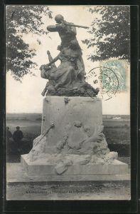 AK Châteaudun, Monument de la Défense