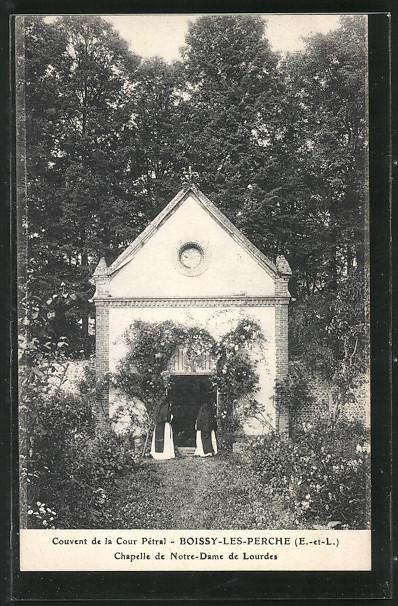 AK Boissy-les-Perche, Couvent de la Cour Pétral, Chapelle de Notre-Dame de Lourdes