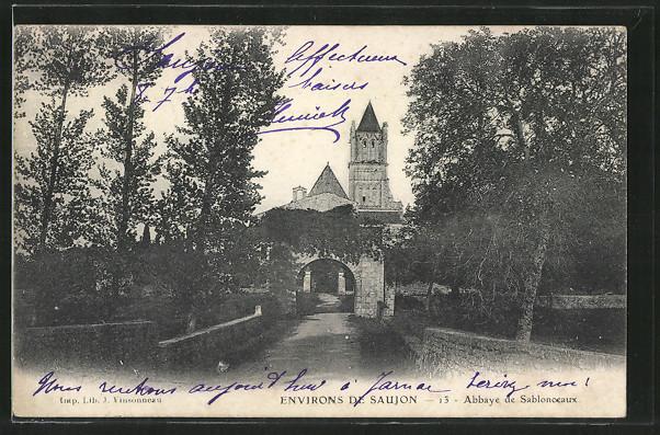 AK Sablonceaux, Abbaye