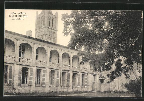 AK Sablonceaux, Abbaye, Les Cloitres