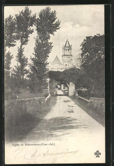 AK Sablonceaux, Eglise