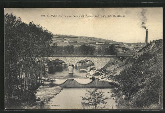 AK Gour-du-Puy, Pont du Gour-du-Puy