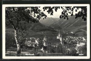 AK Mariazell, Blick auf den Ort