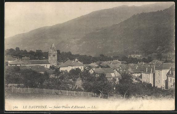 AK Le Dauphiné, Saint-Pierre d'Allevard, L'Église