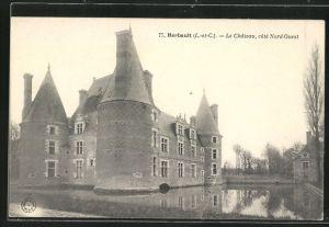 AK Herbault, Le Chateau, cote Nord-Ouest