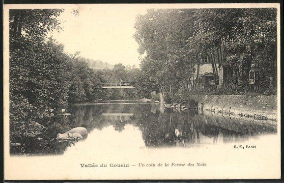 AK Avallon, Vallée du Cousin, un coin de la Ferme des Nids