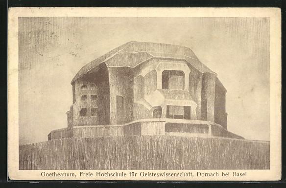 AK Dornach, Goetheanum der freien Hochschule für Geisteswissenschaft
